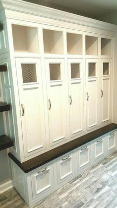 SALE 72 Mudroom Lockers Bench Storage Furniture Cubbies | Etsy