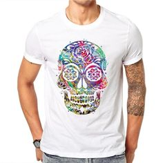 ccb1ac7d758 The Fashion Hollow Skull T-Shirt  happiness  cute  womenstracksuit   fashionista