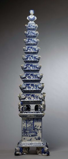 Bloempiramide, De Metalen Pot, ca. 1692 - ca. 1700