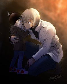 埋め込み Cute Anime Boy, Anime Guys, Manga Anime, Anime Art, Bourbon, Super Manga, Detective Conan Wallpapers, Kaito Kid, Amuro Tooru