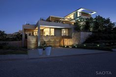 Beach House in Garden Route, South Africa by Stefan Antoni Olmesdahl Truen Architects.
