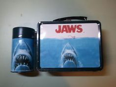 Limited edition Meca metal 'Jaws' Lunchbox with thermos