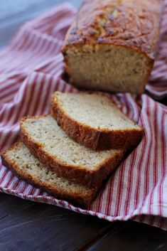Everyday Reading: My Very Favorite Banana Bread Best Banana Bread, Banana Bread Recipes, Buttermilk Recipes, Pound Cake Recipes, Pound Cakes, Breakfast Dishes, Breakfast Ideas, Desert Recipes, Sweet Bread
