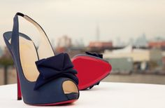 navy blue christian louboutin that I may need to go buy.
