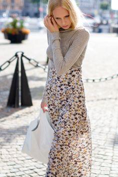 Column Skirt by Emerson Fry