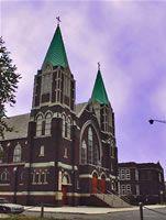 Detroit, Delray, Holy Cross Hungarian Catholic Church.  R. Bujaki, 2008