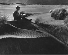 Don Binney at Bethells Beach- 1966 Marti Friedlander