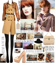 """rainy day in London"" by misslenny ❤ liked on Polyvore"