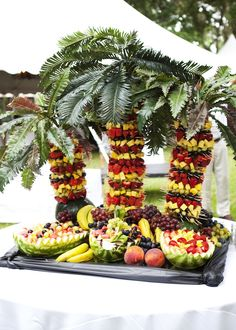 Pineapple Tree from A Perfect Setting, Catering & Events, Inc. - Branford, FL