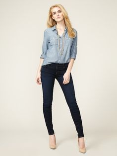 The Skinny Legging Jean by Seven for All Mankind on Gilt