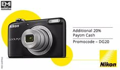 Smileeee! Get Flat 20% Cashback on Point & Shoot Camera at Paytm​  #Camera #Paytm #Shopping #india #Nikon #Canon #Deals #offers