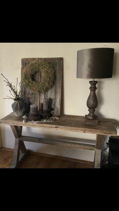 Decor Styles, Entryway Tables, Room Decor, Rustic, Farmhouse, Vintage, Furniture, Decoration, Design