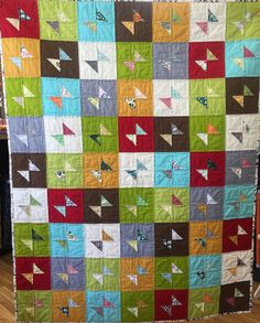 Modern Bow Tie Quilt Kit (Quilt Top Only)