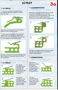 Image - Article 7 : Leçon 3a - Apprendre le crochet - Skyrock.com