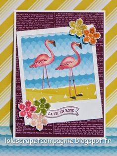 Lolascrap et compagnie: La vie en rose avec Stampin'up