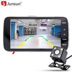 Ambarella Dash Camera In Car Video Security Cam 1296P XHD Truck Backup Cameras