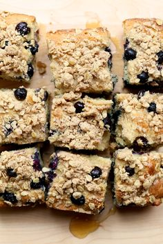 Gluten-Free Lemon Blueberry Coffee Cake