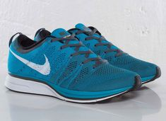 nike flyknit trainer neo turquoise Nike Flyknit Trainer+ Neo Turquoise
