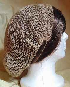 Ravelry: sallyinwales' Sprang hairnet