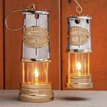 Brass U0026 Stainless Steel Oil Lamps By Garrett Wade.