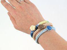 crochet braid bracelet pattern by planetjune