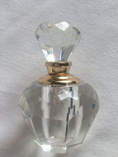 Flacon miniature pour parfum,  neuf, avec applicateur, verre artistique Italie Miniature Parfum, Perfume Bottles, Ebay, Drinkware, Italy, Artist