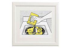 Roy Lichtenstein, Washing Machine on One Kings Lane $189