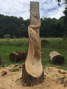 Rob Beckinsale Chainsaw Carving and Sculpture based in Gloucestershire. Chainsaw Wood Carving, Wood Carving Art, Wood Art, Bird Sculpture, Abstract Sculpture, Bronze Sculpture, Metal Sculptures, Chain Saw Art, Bird Statues