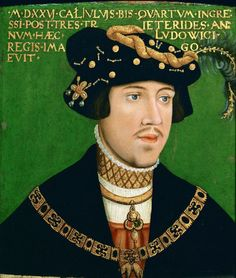 ab. 1522 Hans Krell - Ludwik Jagiellończyk (Louis II of Hungary)