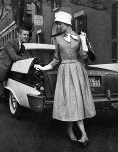 Loving this vintage fashion ad.