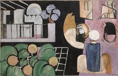 HuffPost Arts & Culture - State of art 100 years ago.  Henri Matisse, 1915-16, The Moroccans, oil on canvas, 181.3 x 279.4 cm, Museum of Modern Art