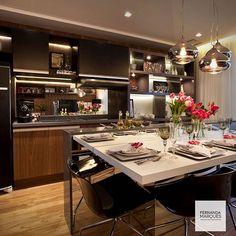 Da série : cozinhas  From the series : kitchens.  #dicasfernandamarques #fernandamarquestips #kitchen #gourmet #gourmetkitchen #awsome #cool #family #friends #party #fernandamarques #fernandamarquesarquiteta