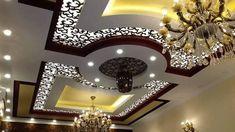Top 40 Modern False Ceiling Design Ideas of - Engineering Discoveries Best Ceiling Designs, Beautiful Ceiling Designs, Pvc Ceiling Design, Simple False Ceiling Design, Interior Ceiling Design, Ceiling Design Living Room, Bedroom False Ceiling Design, Home Ceiling, Modern Ceiling