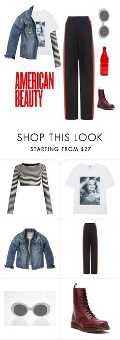 """rebel rebel"" by baabyyblue ❤ liked on Polyvore featuring Dolce&Gabbana, Kenzo, Hollister Co., Vetements, Dr. Martens and Alpine"