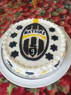 Mathias f.c. cake ispired by juventus f.c.