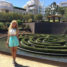 Nice day in #gettymuseum #losangeles