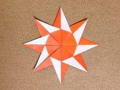 簡単折り紙★ 太陽の折り方 ★|Origami Sun Easy - YouTube