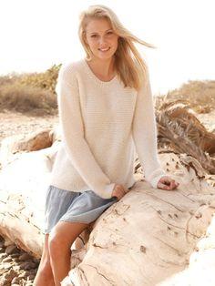 So einfach stricken Sie diesen Pullover