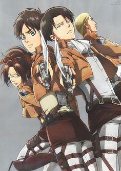 Hajime Isayama, Production I.G, Shingeki no Kyojin, Eren Yeager, Levi attack on Titan
