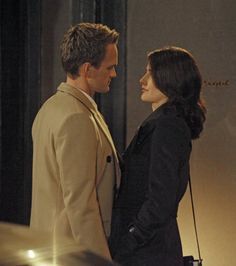 Robin and Barney Cobie Smulders and Neil Patrick Harris How I Met Your Mother Swarkles Barney E Robin, Ted And Robin, How I Met Your Mother, Best Series, Tv Series, Robin Scherbatsky, Ted Mosby, Movie Couples, Himym