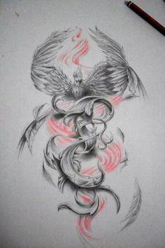 японский феникс татуировка: 14 тыс изображений найдено в Яндекс.Картинках