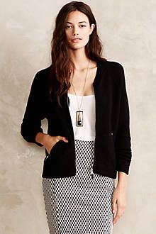 Quilted Jacquard Jacket - anthropologie.com