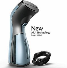 Advertisement - Handheld Steamer Sterilizer by iSteam Luxury Edition Wrinkle Steam Iron Iron Steamer, Clothes Steamer, How To Iron Clothes, Steam Iron, How To Clean Furniture, Steam Cleaning, Household Cleaning Supplies, Wrinkle Remover, Works With Alexa