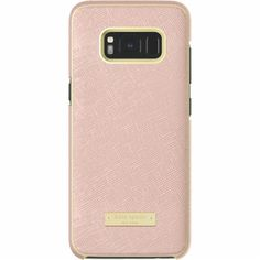 kate spade new york - Wrap Case for Samsung Galaxy S8 - Saffiano Rose Gold - Front_Zoom