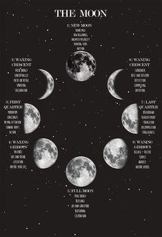 Wiccan Spells, Magick, Pagan, Moon Spells, Green Witchcraft, Magic Spells, Ciel Nocturne, Geometric Tatto, New Moon Rituals