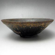 TENMOKU Antique Chinese Jian yao Pottery Tea Bowl #1834 - antique shop CHANO-YU