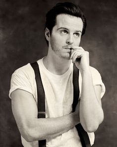 I...a... what was I saying? click for Interview/Photo shoot with Andrew Scott