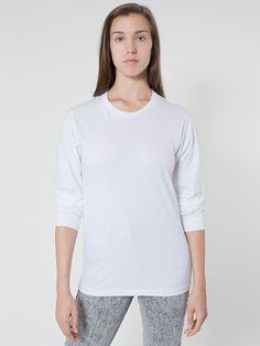 Unisex Organic Fine Jersey Long Sleeve T. Organic Lifestyle, Hoodies, Sweatshirts, Women Wear, Tunic Tops, Graphic Sweatshirt, T Shirts For Women, Unisex, Denim