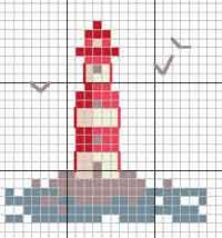 Cross Stitch Patterns, Needlepoint charts and more at AllCrafts! Tiny Cross Stitch, Counted Cross Stitch Patterns, Cross Stitch Charts, Cross Stitch Designs, Cross Stitch Embroidery, Pearler Bead Patterns, Perler Patterns, Small Tapestry, Cross Stitch Landscape