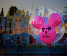 Disney Balloons and Its a Small World
